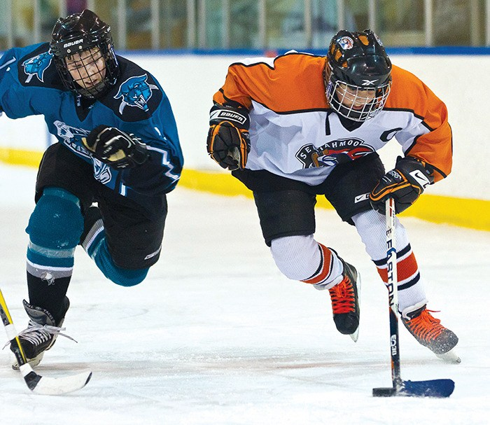 Semiahmoo midget hockey
