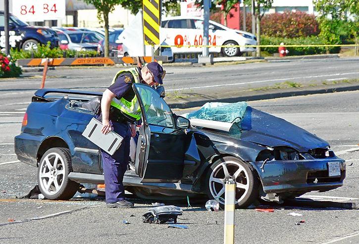 Langley crash kills Abbotsford woman, injures Surrey man – Peace