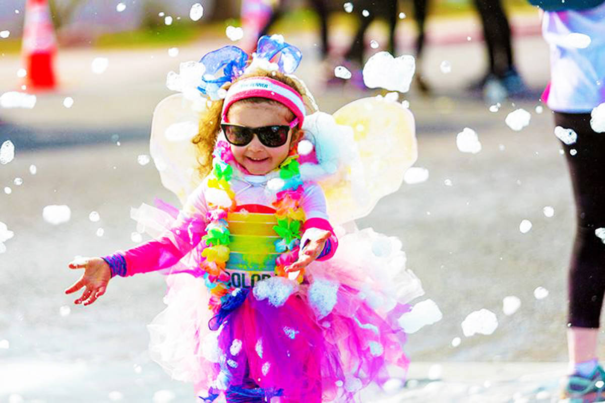 9d5d694125 The Color Run comes to Cloverdale this weekend – Peace Arch News