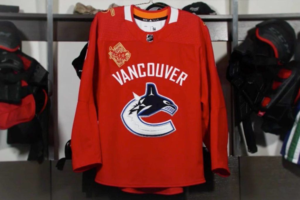 newest 827cc a098c Canucks set to wear red Chinese New Year jerseys – Peace ...