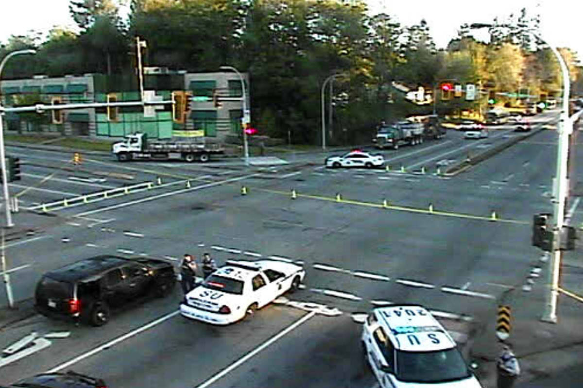 Pedestrian in critical condition after early morning crash in Surrey