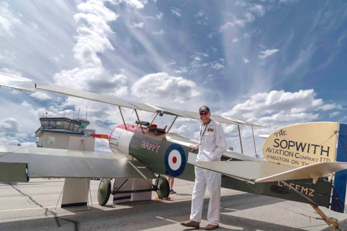 From Airbus to biplane at Langley museum of flight – Peace