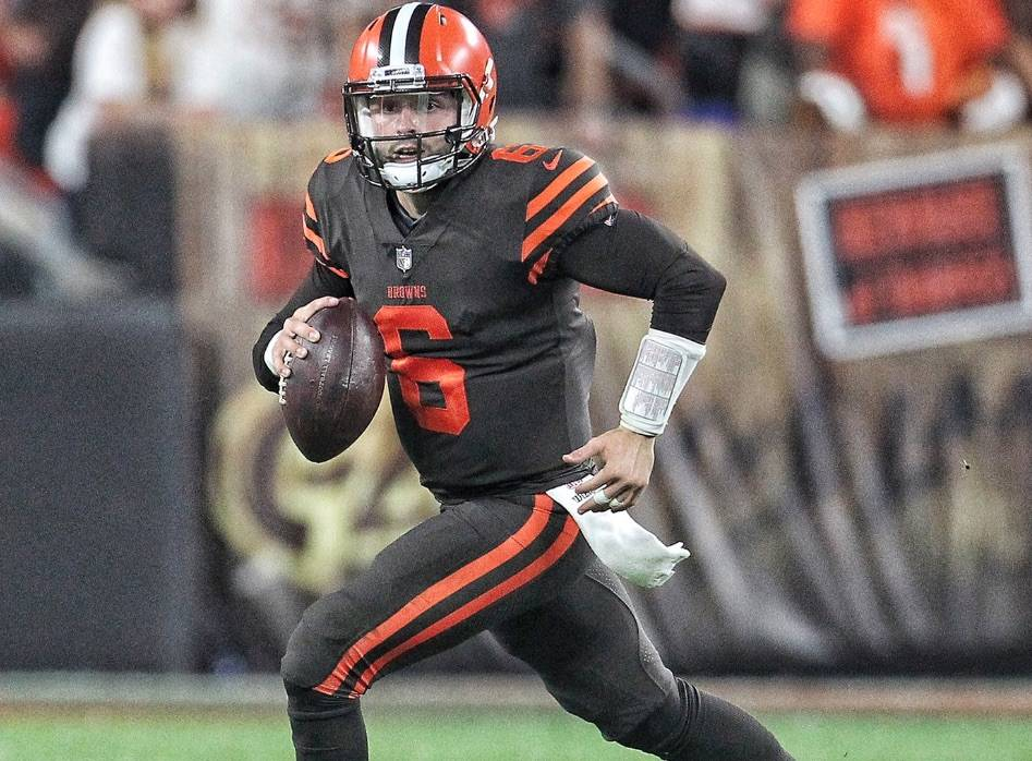 12774914a417 Browns beat streak, win first NFL game in 635 days. Baker Mayfield ...