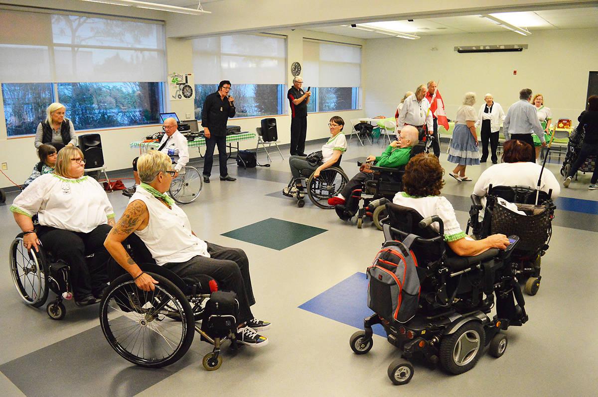the wheeling 8 s how surrey s wheelchair dance club has kept