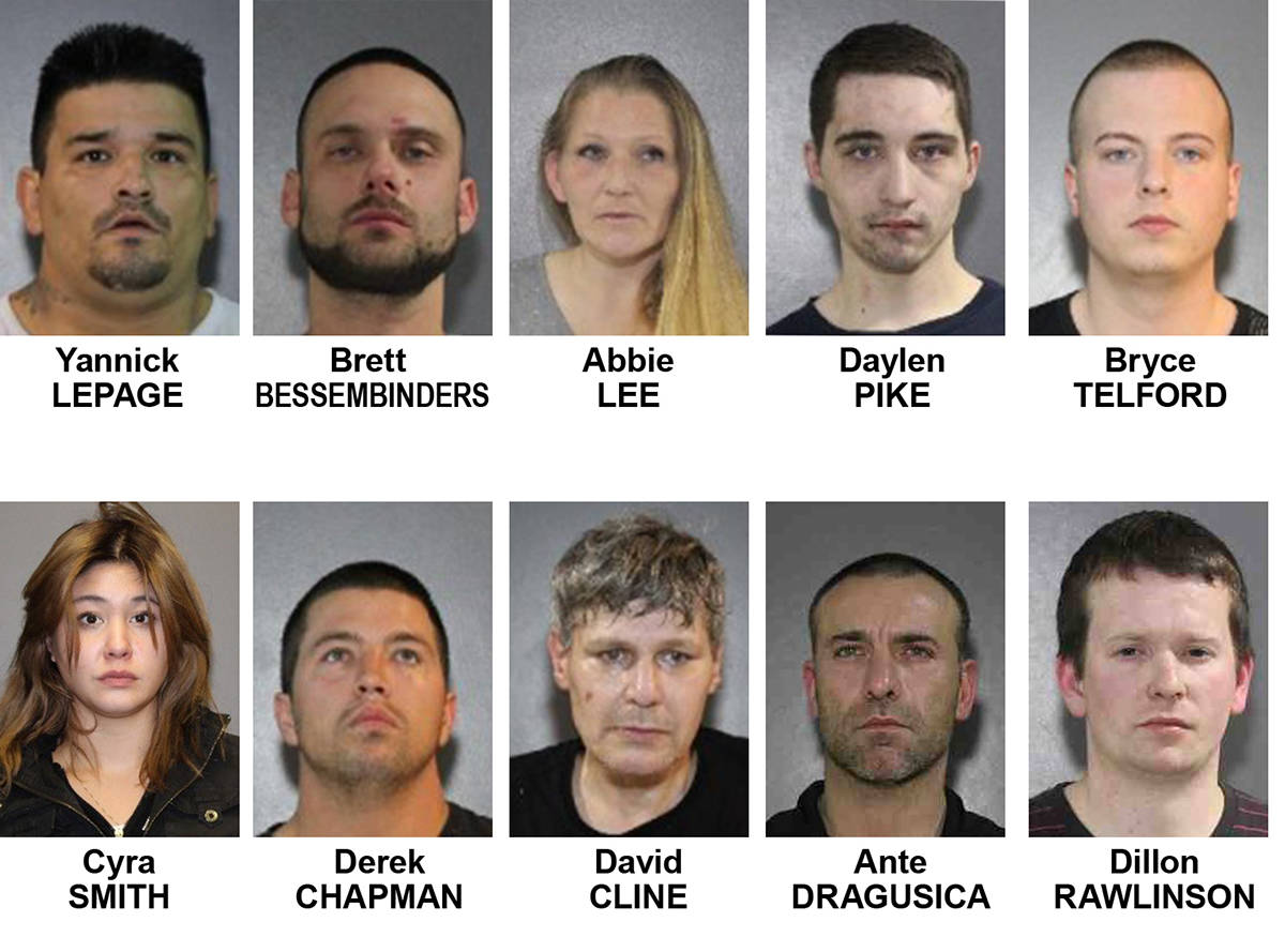 Naughty list' in Surrey includes 10 'prolific offenders with