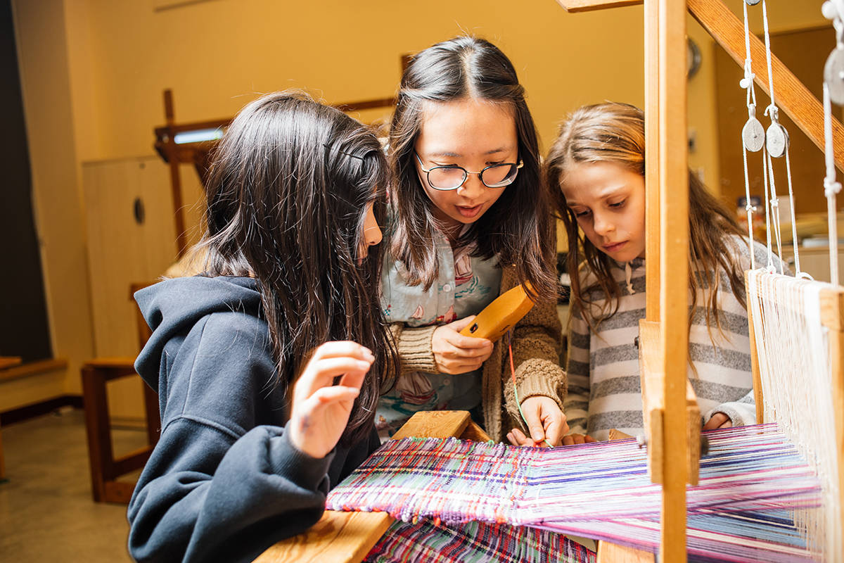 Try your hand at weaving at upcoming Surrey fibre arts festival
