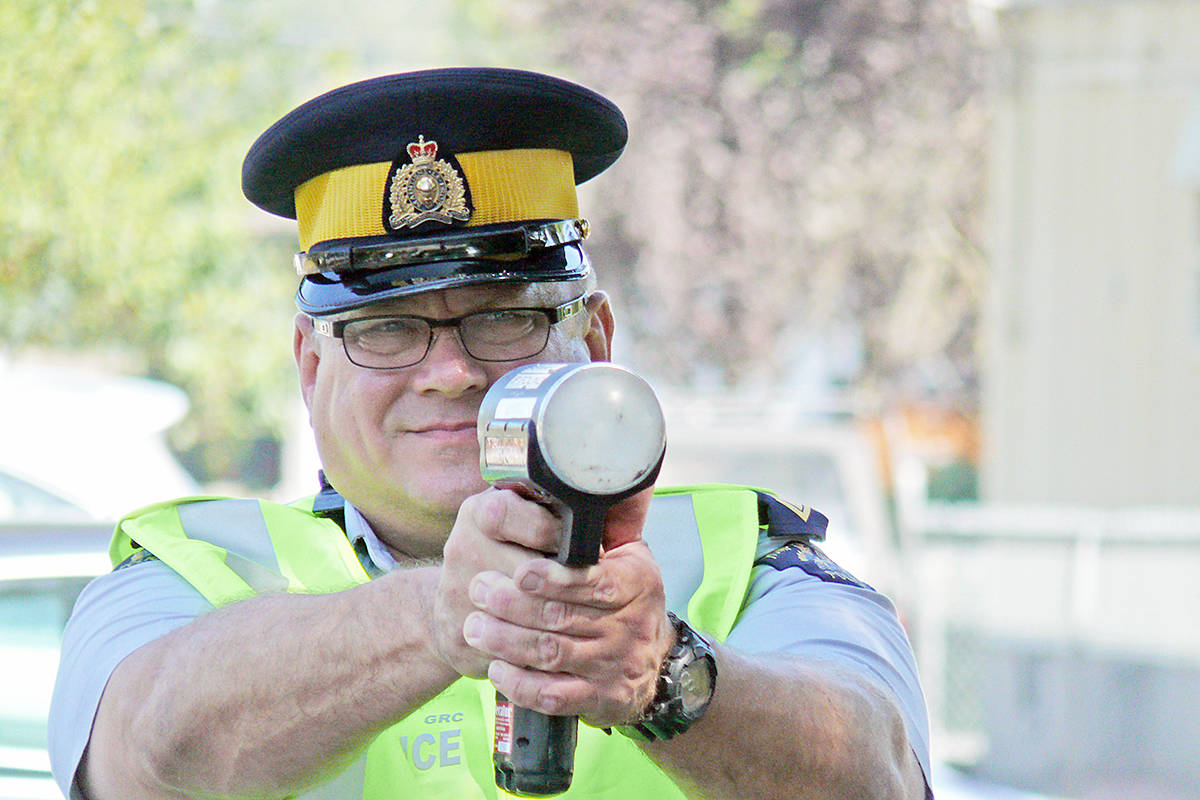 VIDEO: A 'friendly reminder' from police about speeding in