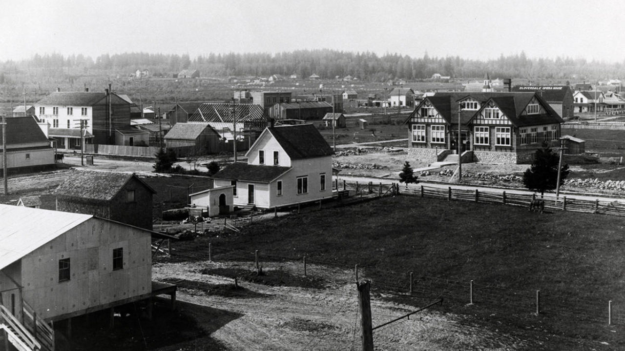 Discover how Surrey's heritage heart has changed over 100