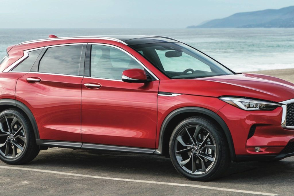 At long last, a new Infiniti is on the way