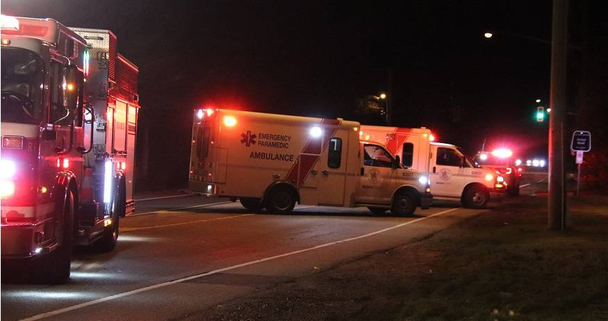 Man in critical condition after South Surrey collision - Peace Arch News