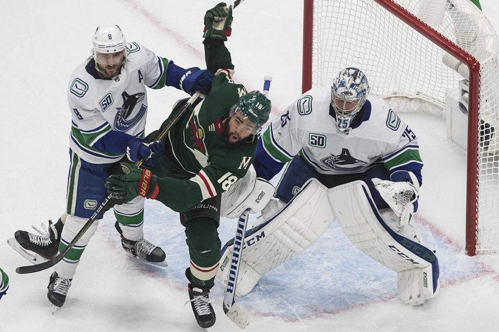 Moving on: Tanev scores 11 seconds into OT as Canucks oust Wild - Peace Arch News