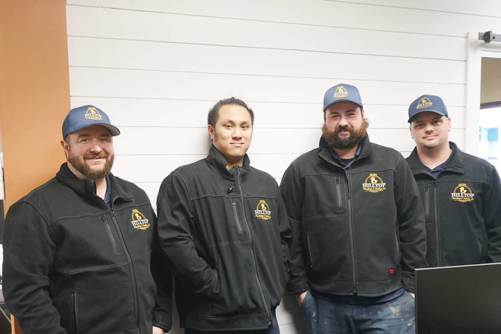 White Rock company warms hearts and heats a home for a deserving family - Peace Arch News